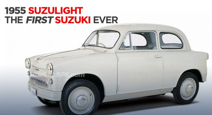 Suzulight- The First Suzuki Automobile Ever 2