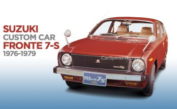 The Suzuki Fronte 7-S (Custom Car) 8