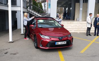 Toyota Corolla 1.8 Hybrid Wins 2019 ECO Car Award in Serbia 3