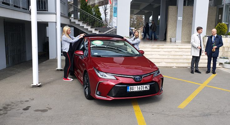 Toyota Corolla 1.8 Hybrid Wins 2019 ECO Car Award in Serbia 1
