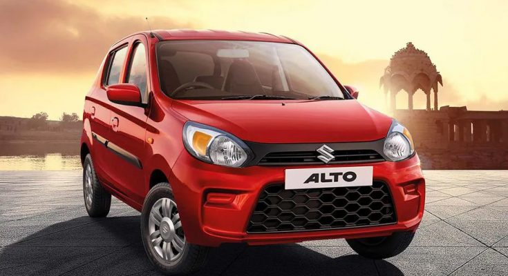 New Suzuki Alto launched in India at INR 2.93 Lac 1