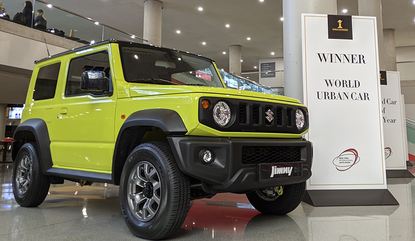 New Suzuki Jimny Continues to Win Awards 3