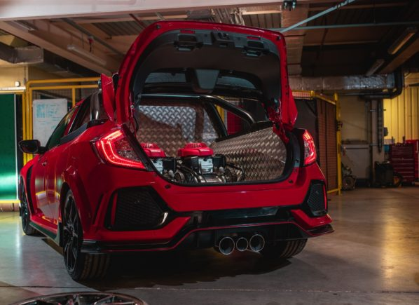 Honda Civic Type R 'Project P' Pickup Truck 6