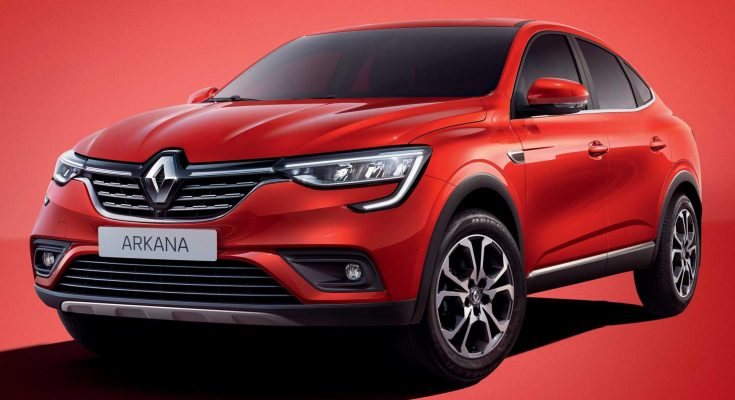 Renault Arkana Production Version Debuts in Russia 1