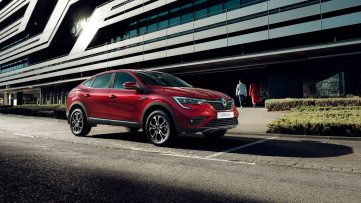 Renault Arkana Production Version Debuts in Russia 7