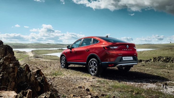 Renault Arkana Production Version Debuts in Russia 10