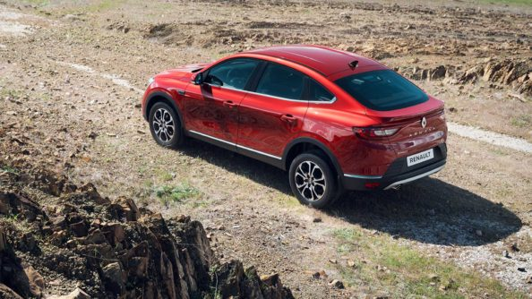 Renault Arkana Production Version Debuts in Russia 6
