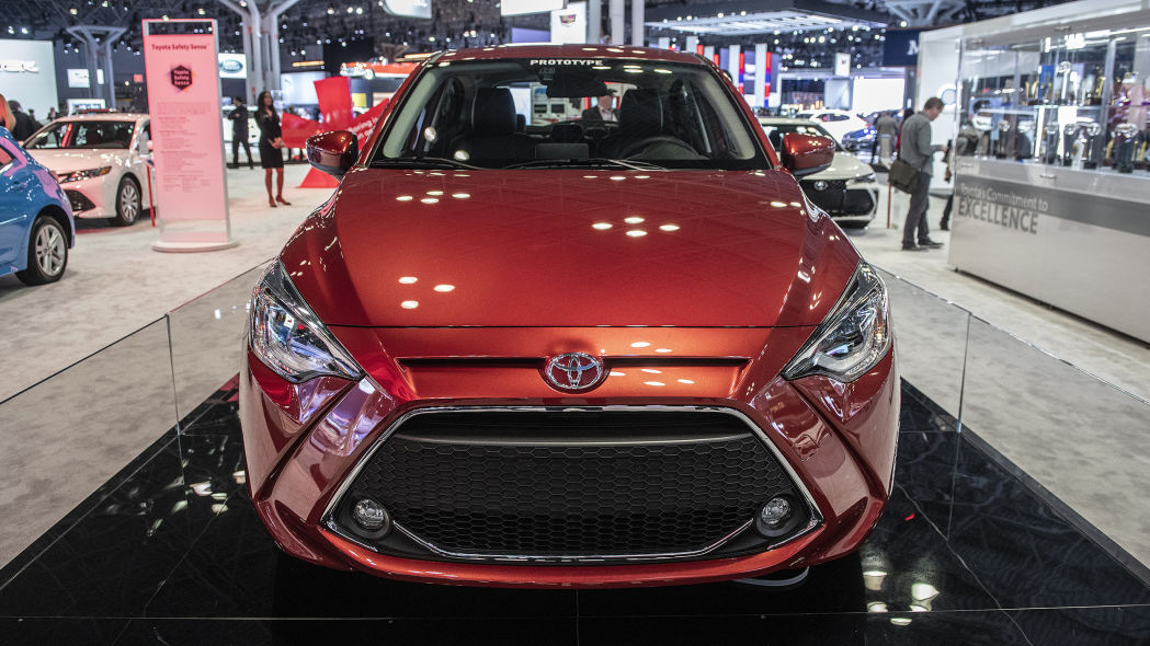 Next Generation Toyota Yaris Debuts at NYAS 2019 2