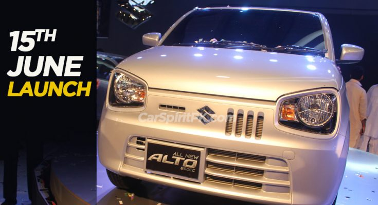 Pak Suzuki to Launch Alto 660cc on 15th June 1