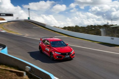 Honda Civic Type R Sets FWD Record at Bathurst 6