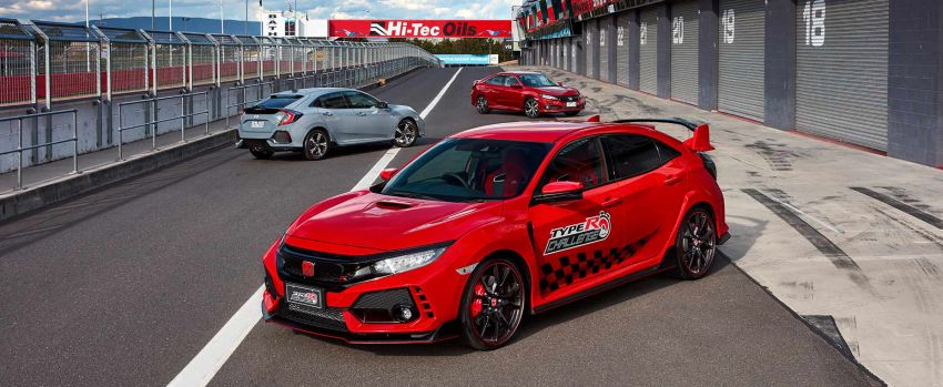 Honda Civic Type R Sets FWD Record at Bathurst 5