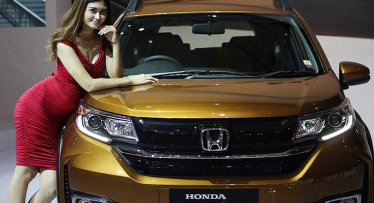 Honda BR-V Facelift at IIMS 2019 1