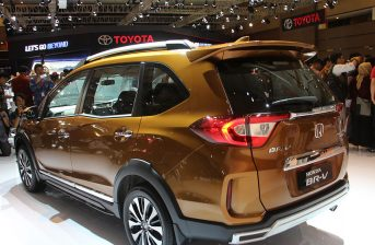 Honda BR-V Facelift at IIMS 2019 8