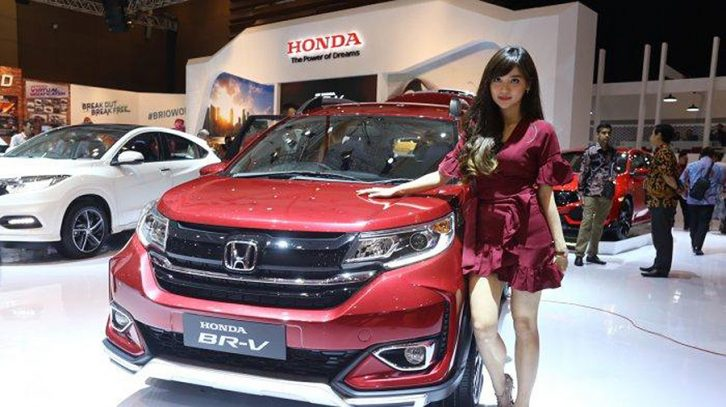 Honda BR-V Facelift at IIMS 2019 21