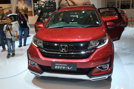 Honda BR-V Facelift at IIMS 2019 18