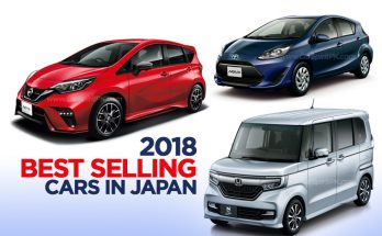 2018 Best Selling Cars in Japan 14