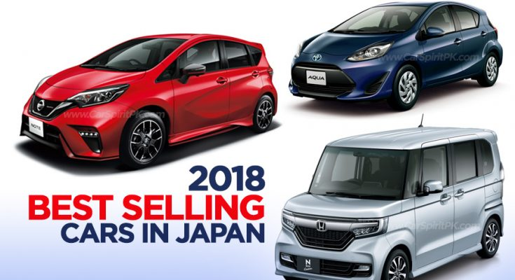 2018 Best Selling Cars in Japan 1