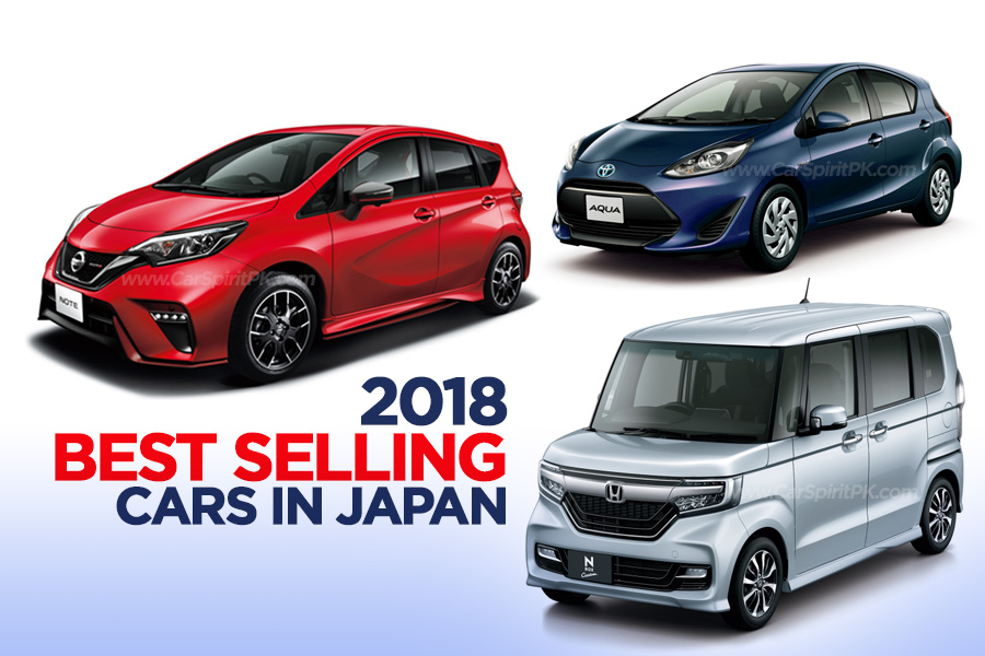 2018 Best Selling Cars in Japan 4