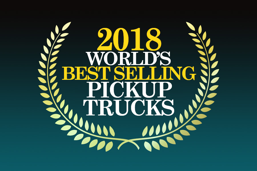 2018- World's Best Selling Pickup Trucks 3