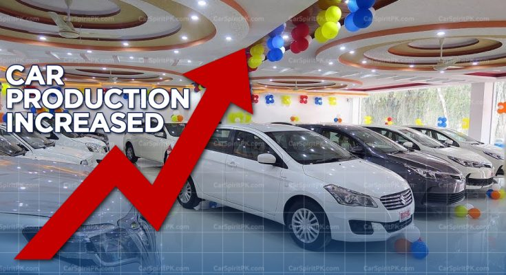 Car Production Increased in First 8 months of FY 2018-19 1