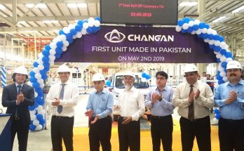 First Local Assembled Changan Rolled Off the Assembly Lines 97