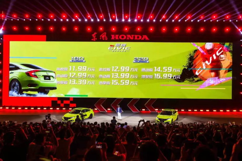 2019 Honda Civic Facelift Launched in China 1