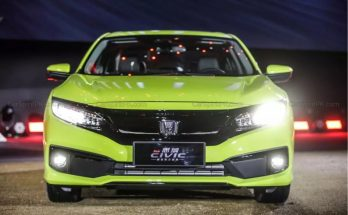 2019 Honda Civic Facelift Launched in China 12