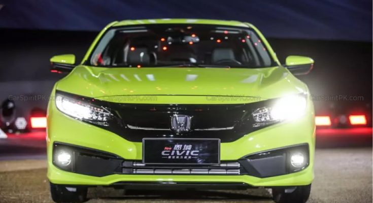 2019 Honda Civic Facelift Launched in China 4