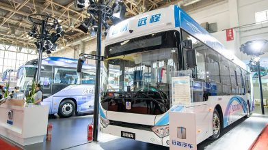 Geely Unveils Hydrogen Fuel Cell Bus 4
