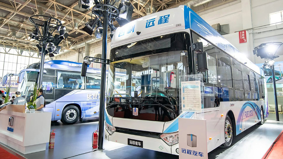 Geely Unveils Hydrogen Fuel Cell Bus 5