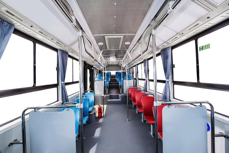 Geely Unveils Hydrogen Fuel Cell Bus 6