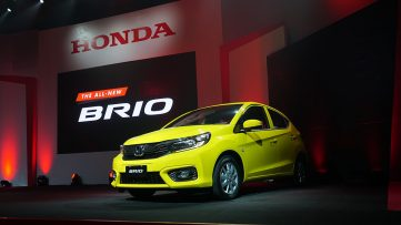 All New 2019 Honda Brio Launched in Philippines 3