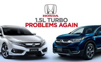 Honda's Popular 1.5L Turbo Engine Causing Problems 1