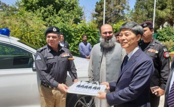 South Korea Gifts 6 Police Vehicles to Balochistan 1