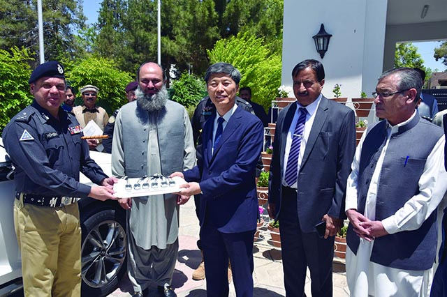 South Korea Gifts 6 Police Vehicles to Balochistan 2