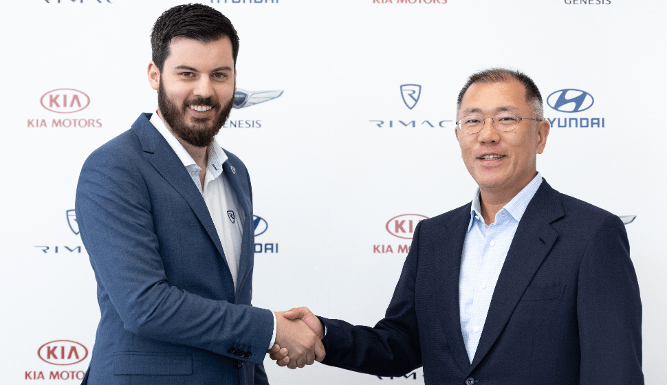Hyundai and Kia are Teaming Up with Rimac to Build Electric Sports Cars 1