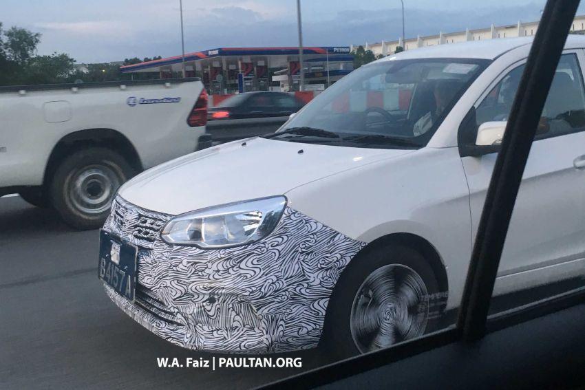 Proton Saga Facelift Spotted Testing in Malaysia 5