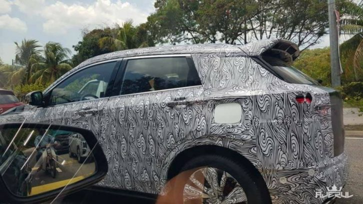 Proton X50 will be Based on Geely SX11 Binyue 4