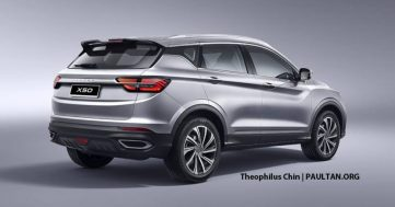 Proton X50 will be Based on Geely SX11 Binyue 9