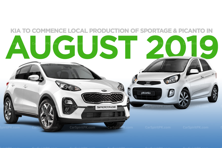 Kia to Start Local Production of Sportage and Picanto From August 2