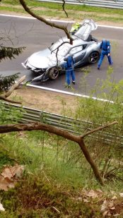 2020 Toyota Supra Crashes at the Nürburgring 2