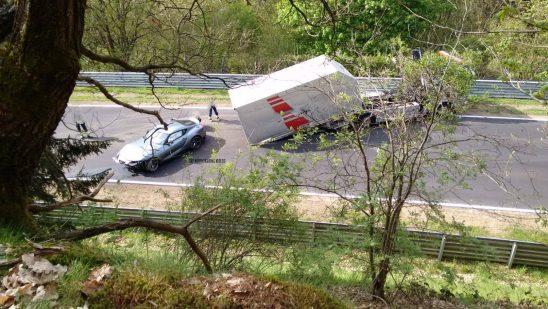 2020 Toyota Supra Crashes at the Nürburgring 3