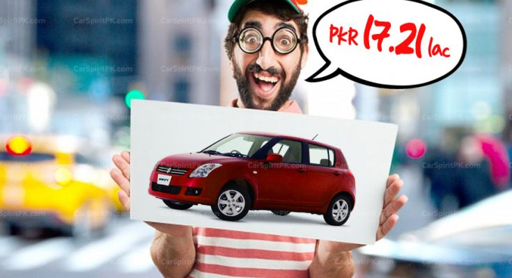 PKR 17.21 lac Justified for Pak Suzuki Swift? 1