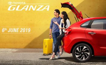 Toyota Glanza to Launch on 6th June 2019 2