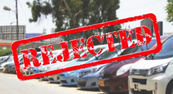 Government Rejects Commercial Import of Used Cars 1