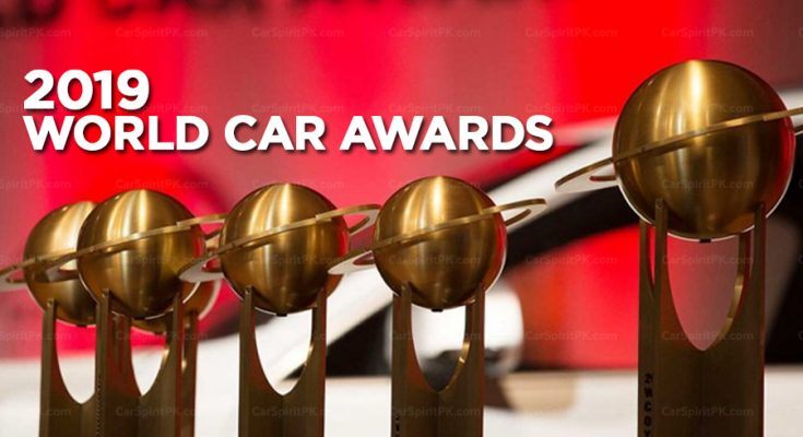 Winners of the 2019 World Car of the Year Awards 2