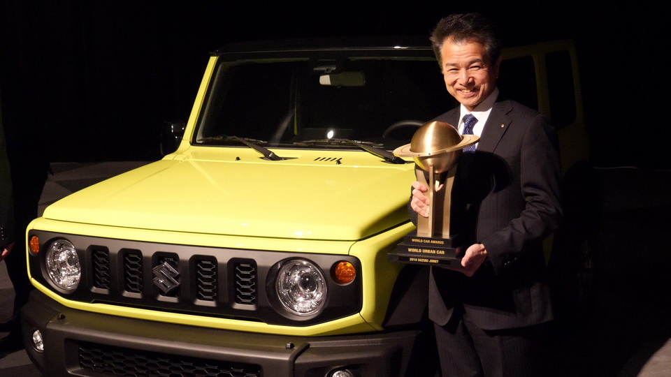 New Suzuki Jimny Continues to Win Awards 2