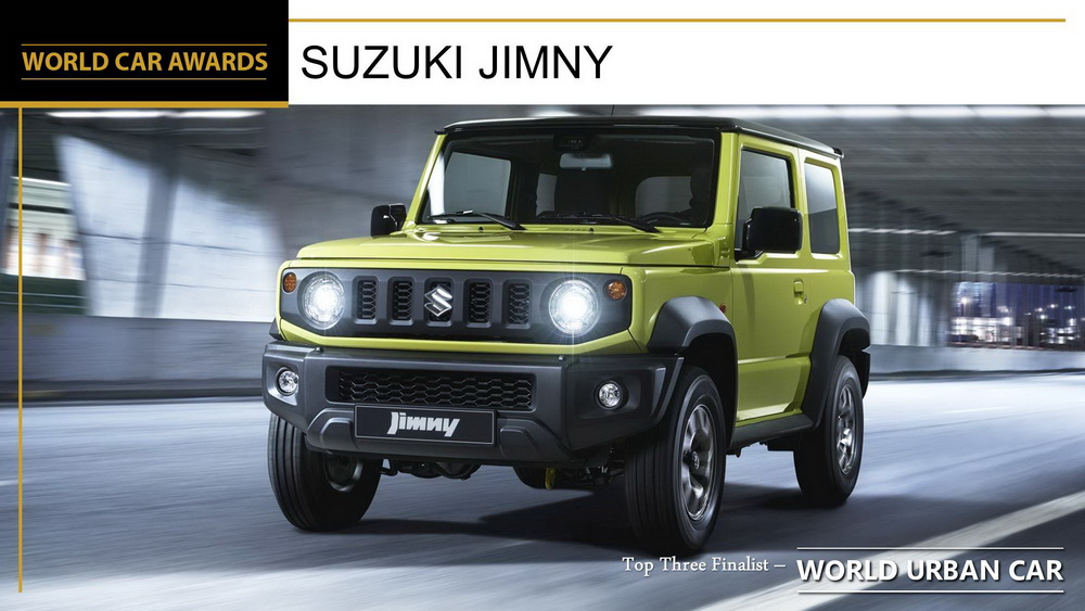 Winners of the 2019 World Car of the Year Awards 12