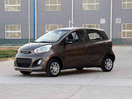 Yogomo 330- The Kia Picanto Clone in China 4