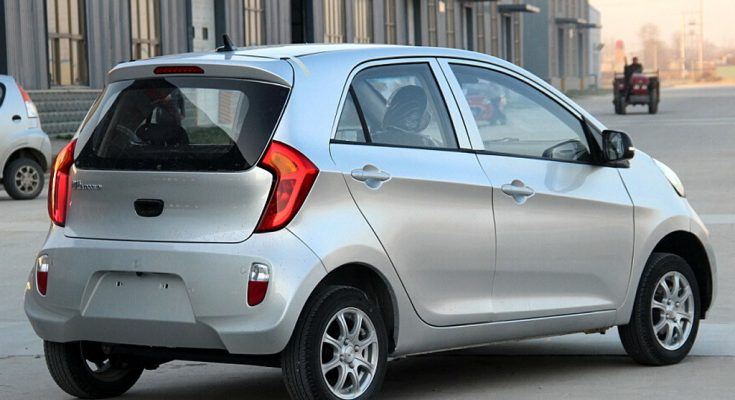 Yogomo 330- The Kia Picanto Clone in China 1